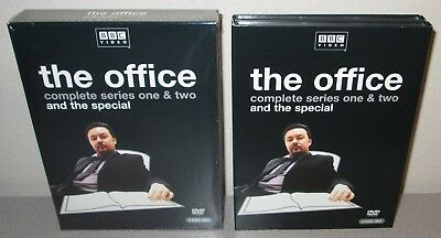 The Office Complete Bbc Collection 2004 4 Dvd Set In Shrink Ricky Gervais