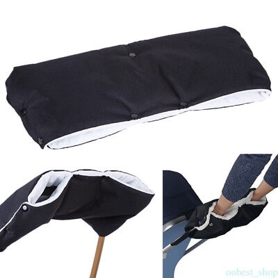 Flannel Gloves Stroller Warmer Hand Muff Buggy Accessories Thick Anti-Freeze
