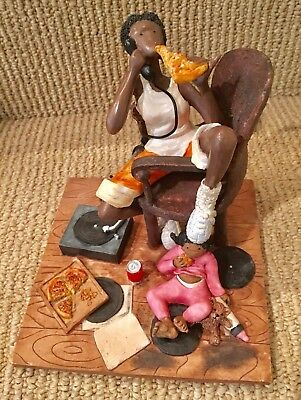 BABYSITTER by SASS 'n CLASS ANNIE LEE FIGURINE, VERY GOOD COND. FREE SHP