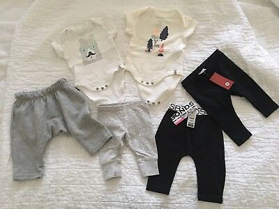 MIXED baby boy girl BONDS COTTON ON Bodysuit Romper leggings 000 0000 newborn