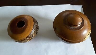 Wood Turned Bowls By World Renowned Artist/ Woodturner Guilio Marcolongo