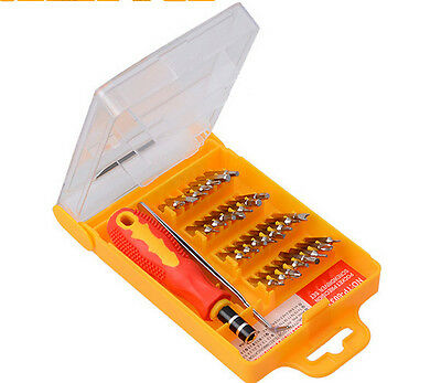 Precision 32 in 1 Screw Driver Set Small Pocket Screwdriver Set Bits Tool Kits