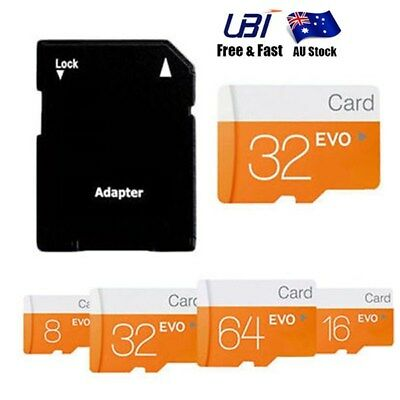 128GB/64GB/32G Class 10 Micro SD TF Flash Memory Card for Camera Mobile Phone