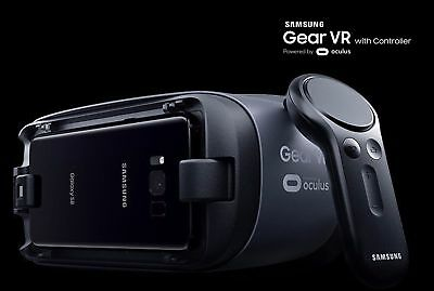 Samsung Gear VR 2017 Headset with Controller (For S8, S8+, S7/S6 edge, Note 5)