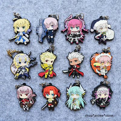 Fate / Grand Order Anime Rubber Strap Keychain Charm Vol.2
