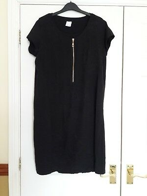 Black mamalicious breastfeeding nursing dress size medium