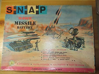 SNAP kit number:  154-149 HAWK MISSILE BATTERY, 1/40 scale. no kit in box.