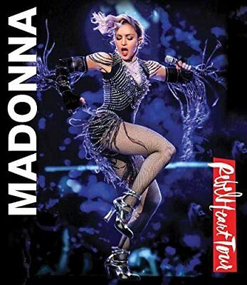 Madonna 'rebel Heart Tour' Blu Ray (2017)