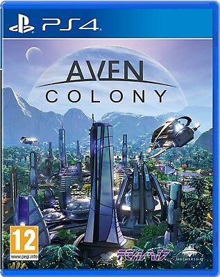 Aven Colony (Playstation 4) NEW & Sealed - Despatched from UK