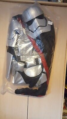 BNWT Disney Store Kids Captain Phasma Costume Star Wars The Force Awakens 11-12