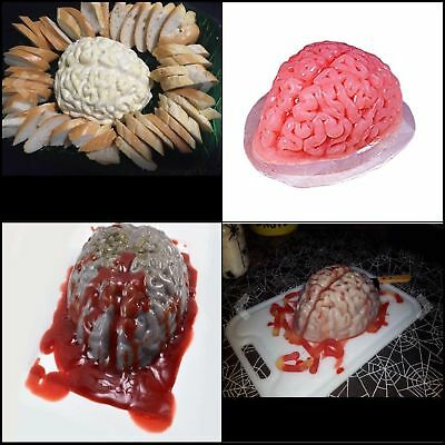 halloweem brain mold for a cool decoration you can make yourself and then eat it