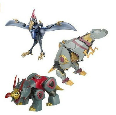 Transformers Animated Grimlock Swoop Snarl Hasbro Whole Set