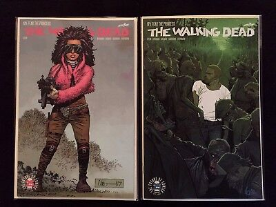 Walking Dead #171 Cover A & Cover B Lorenzo de Felici Variant 2017 NM or Better