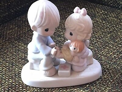 1996 Precious Moments 163597, You Are Always There For Me, Doll Doctor