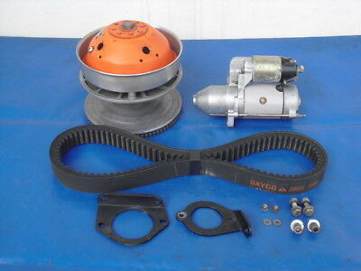 377 447 503 Rotax Electric Start Set-Up/Kit With Centrifugal Clutch & Belt