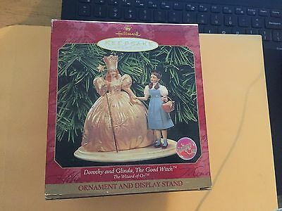 dorothy and glinda the good witch hallmark keepsake ornament