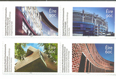 Ireland-Building set mnh 2014-architecture