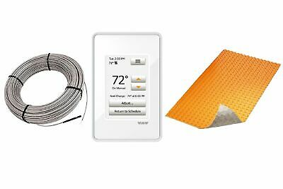 Schluter DITRA Floor Heat E Kit Touchscreen Thermostat + DUO TB Membrane + Cable