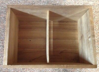 Vintage Japanese Wooden Storage Box