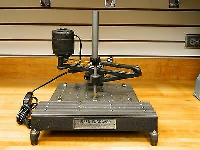Green Engraver Machine #106 with Accessories