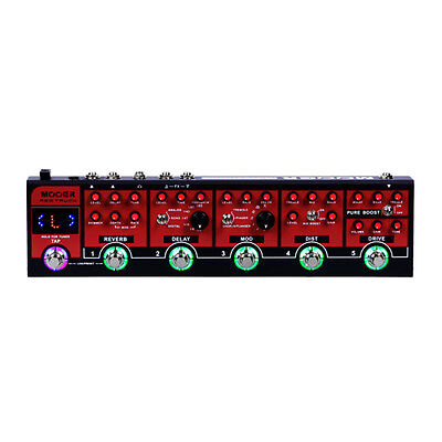 Mooer Red Truck Switcher and effects all in one pedal