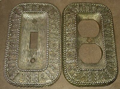 Vintage Set 1968 American Tack & Hardware Electric Outlet & Light Switch Covers