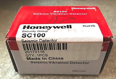 New Honeywell SC100 20170116 Seismic Vibration Detector! Free USA Shipping!