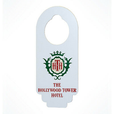 Authentic Disney Parks Hollywood Tower of Terror Do Not Disturb Door Knob Hanger