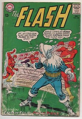 The Flash #150 (1965) Captain Cold! The Touch & Steal Bandits!