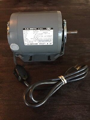 AO Smith AC motor Thermally Protected 1/3HP 1725RPM  115v