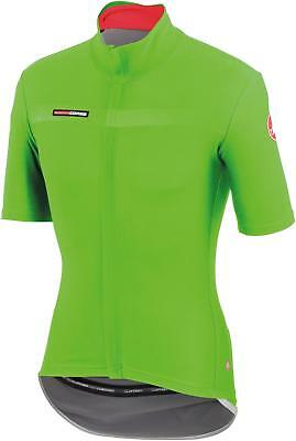 Castelli Gabba 2 Short Sleeve Road Bike Cycling Cycle Jersey - Green - Medium