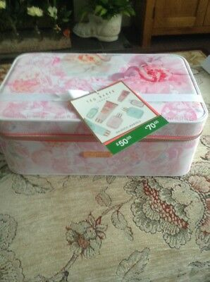 Ted Baker Majestic Marvels Vanity Case And Toiletries Gift Set Brand New