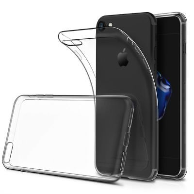 New Transparent Crystal Flexi Gel Case TPU Silicone Cover Skin iPhone 8 Plus