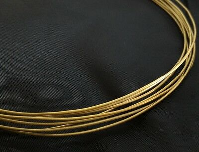 18 gauge AWG 1mm SOFT SOLID BRASS BEADING WIRE FINDING CRAFT CUSTOM JEWELRY 4ft