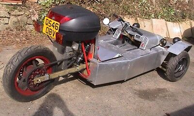 Reverse Electric Trike, fully road registered, Lightweight Electric vehicle