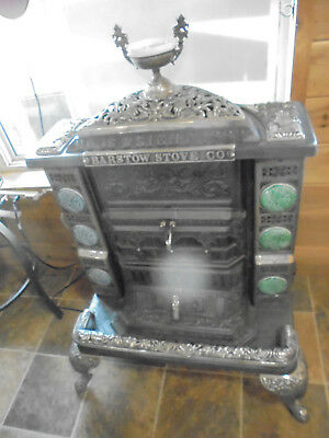Antique Barstow Cast Iron Wood/coal Stove