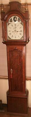 "Antique Mahogany Automation Ship ""Bath"" Longcase / Grandfather Clock"