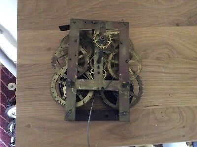 American Clock Movement by E N Welch, Spares/Repairs