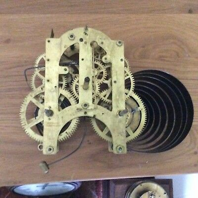 Ansonia Clock Movement for Spares or Repairs