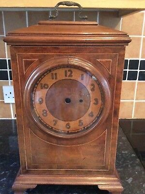 Inlaid Bracket Clock Case For Fusee Clock & Later Internal Additions, Case Only.