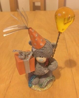 Unboxed Me To You Figurine - Party Bear - 2003 - Very Rare.
