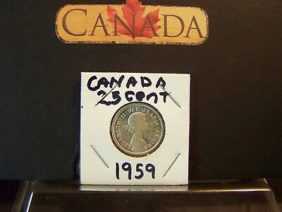 Proof-Like!!!!!! 1959 Gorgeous Canada Twenty Cent Silver Coin -Proof-Like!!!!!!!