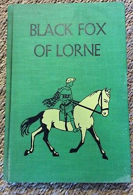 Black Fox of Lorne by Marguerite De Angeli 1st Edition