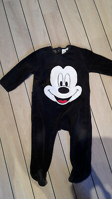 pyjama 18 mois velours Mickey Disney