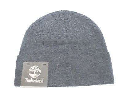 41dbd1cd2 TIMBERLAND MEN'S RIBBED Cuff Reversible Gray Beanie A1EGY - $16.99 ...