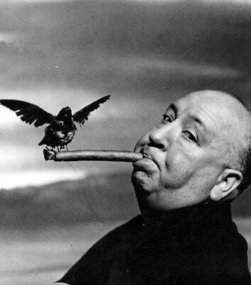 The Birds UNSIGNED photo - K2492 - Alfred Hitchcock