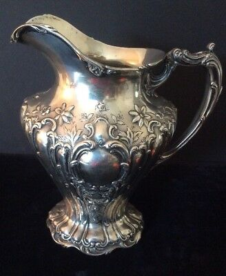 Sterling Silver Gorham Chantilly Grande Water Pitcher