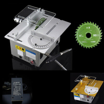 Portable Multi-function Mini Benchtop T6 Table Saw Flexible Shaft Power Tool KPA