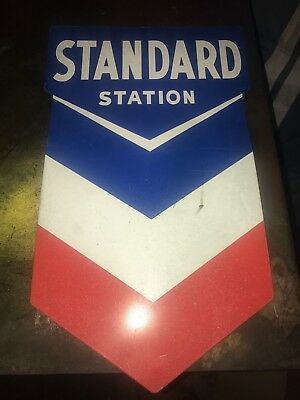 Chevron Tin Metal Sign Add To Porcelain Sign Collection