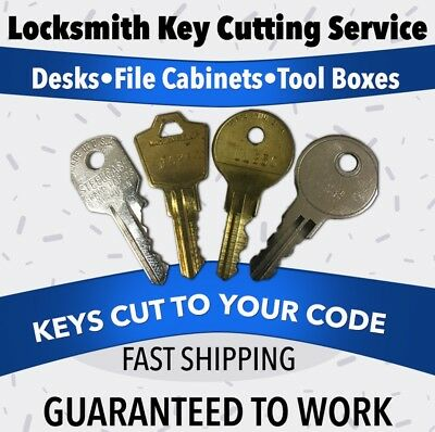 Committed to Making Key Replacements Easy Anderson Hickey  File Cabinet Keys